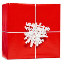 Red Gift Wrap Kit