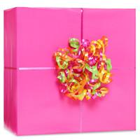 Bright Pink Gift Wrap Kit