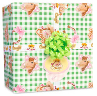 Pink Cowgirl Gift Wrap Kit