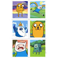 Adventure Time Sticker Sheets