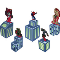 Spider Hero Dream Party Tabletop Decorations