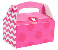 Pink! Empty Favor Boxes