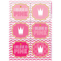 Pink! Sticker Sheets