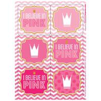 Pink! Sticker Sheets