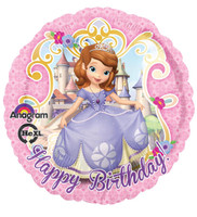 Disney Junior Sofia the First Foil Balloon