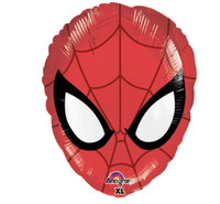Spider Hero Dream Party Head Shaped Foil Balloon