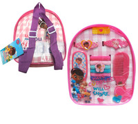 Disney Junior Doc McStuffins Mini Backpack Accessory Set