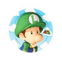 Super Mario Bros. Babies Dessert Plates (8)