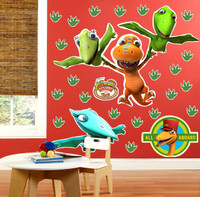 Dinosaur Train Giant Wall Decals