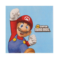 Super Mario Party Beverage Napkins