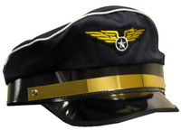 Airplane Pilot Adult Hat