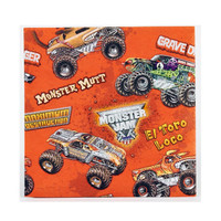 Monster Jam 3D Beverage Napkins