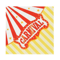 Carnival Games Beverage Napkins