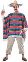 Mexican Serape  Adult Costume