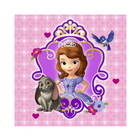 Disney Junior Sofia the First Beverage Napkins