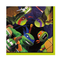 Nickelodeon Teenage Mutant Ninja Turtles Beverage Napkins