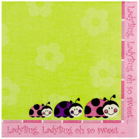 LadyBugs: Oh So Sweet Lunch Napkins
