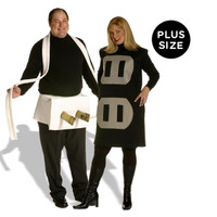 Plug +ACY- Socket Couples Set Adult Plus Costume