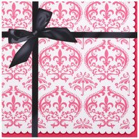 Paris Damask Lunch Napkins