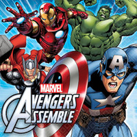 Avengers Assemble Lunch Napkins