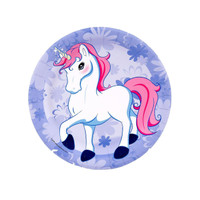Enchanted Unicorn Dessert Plates