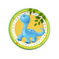 Little Dino Dessert Plates