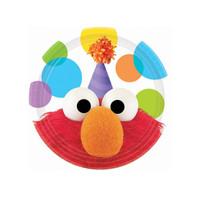 Sesame Street Elmo Party Dessert Plates