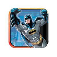 Batman Heroes and Villains Square Dessert Plates