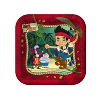 Disney Jake and the Never Land Pirates Dessert Plates