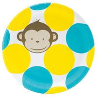 Mod Monkey Dinner Plates