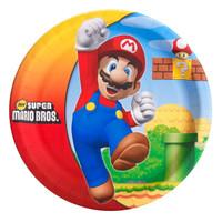 Super Mario Bros. Dinner Plates