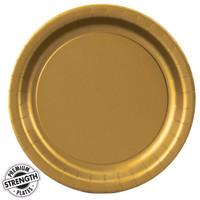 Glittering Gold (Gold) Dinner Plates