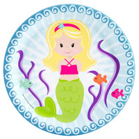 Mermaids Dinner Plates