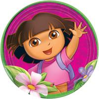 Dora's Flower Adventure Dinner Plates