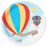 Up, Up and Away Dinner Plates