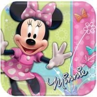 Disney Minnie Dream Party Square Dinner Plates