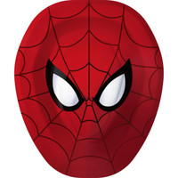 Spider Hero Dream Party Shaped Dinner Plates