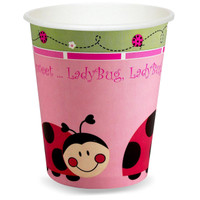 LadyBugs: Oh So Sweet 9 oz. Cups