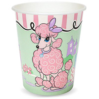 Pink Poodle in Paris 9 oz. Cups