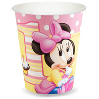 Disney Minnie's 1st Birthday 9 oz. Cups