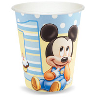 Disney Mickey's 1st Birthday 9 oz. Cups