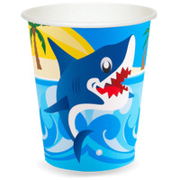 Sharks 9 oz. Paper Cups