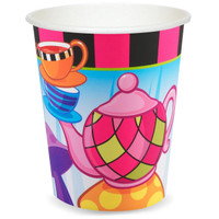 Topsy Turvy Tea Party 9 oz. Paper Cups