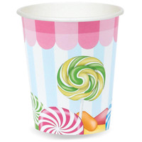Candy Shoppe 9 oz. Paper Cups