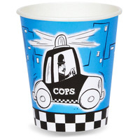 Cops and Robbers Party 9 oz. Paper Cups