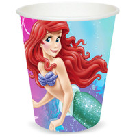 Disney The Little Mermaid Sparkle 9 oz. Paper Cups