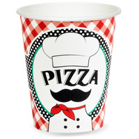 Itzza Pizza Party - 9 oz. Paper Cups