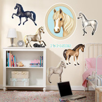 Ponies Giant Wall Decals