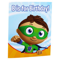 Super Why! Invitations