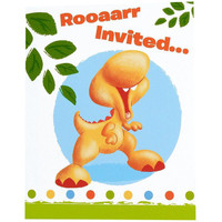 Little Dino Invitations